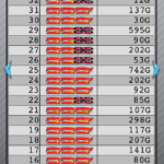 マイジャグラー3 設定2の最大ハマリゲーム数_10