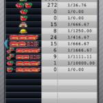 マイジャグラー3|設定1の確率データ_16