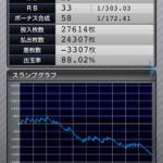 ファンキージャグラー 設定5|のスランプグラフ挙動データ_23