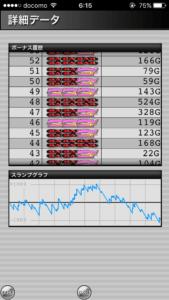 ハッピージャグラー設定5|のスランプグラフ挙動データ_25