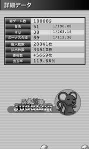 みんなのジャグラー 設定5|スランプグラフの特徴や挙動とハマリ、設定判別と設定差のデータ!-チェリー確率, ぶどう確率, 設定差, 設定5, シミュレーション, みんなのジャグラー, 差枚数, データ, 挙動, パチスロ, スランプグラフ, ジャグラー-IMG 4669 179x300