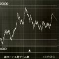 HANABI、50万回転、設定1、グラフ、補助線付き